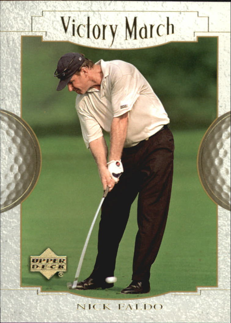 2001 Upper Deck #152 Nick Faldo VM
