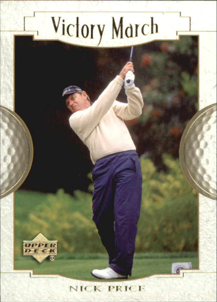 2001 Upper Deck #156 Nick Price VM
