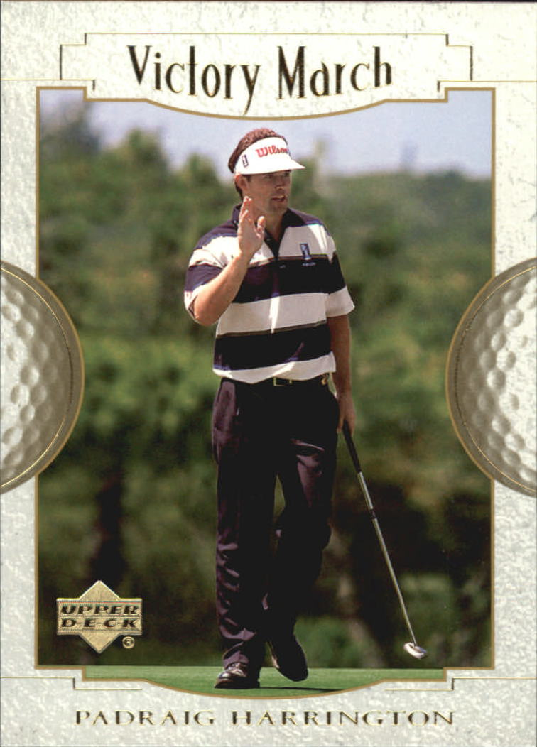 2001 Upper Deck #159 Padraig Harrington VM