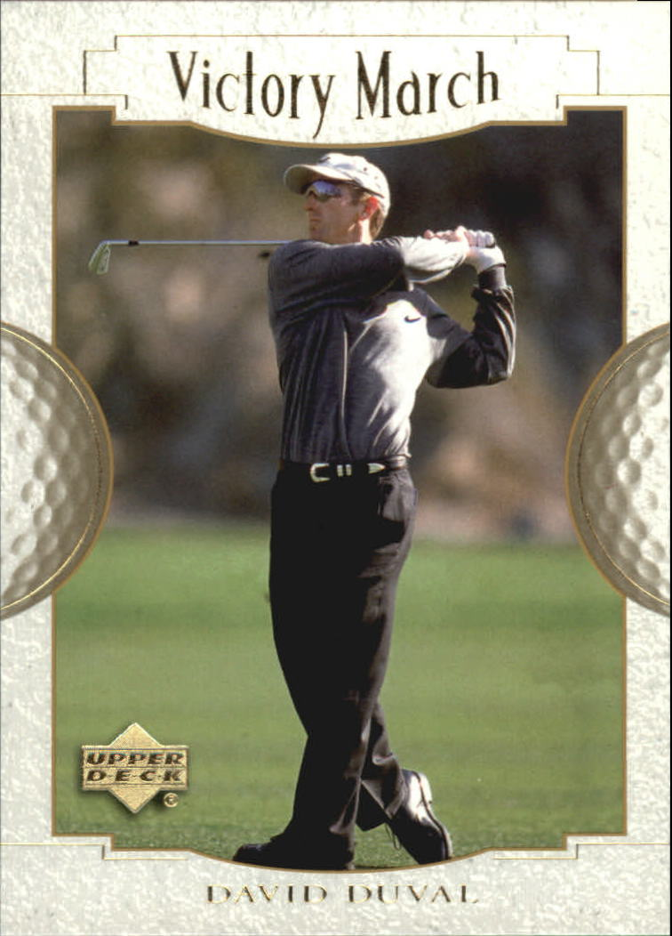 2001 Upper Deck #165 David Duval VM