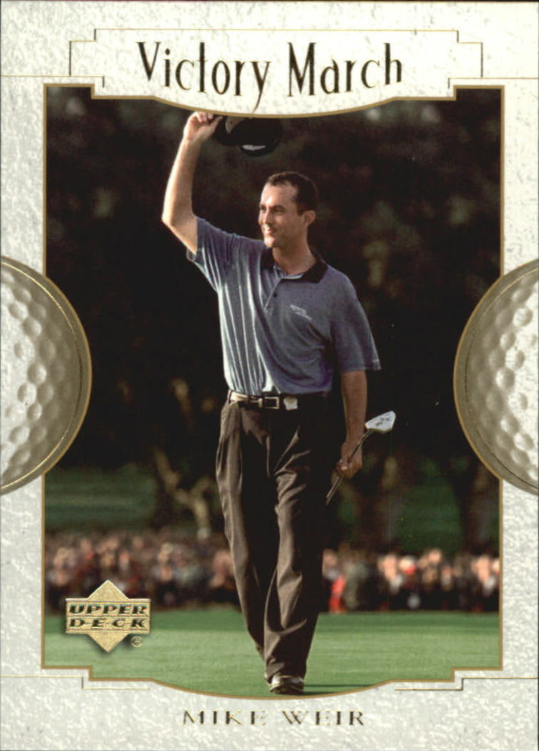 2001 Upper Deck #166 Mike Weir VM