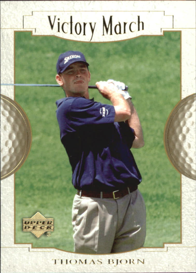 2001 Upper Deck #170 Thomas Bjorn VM