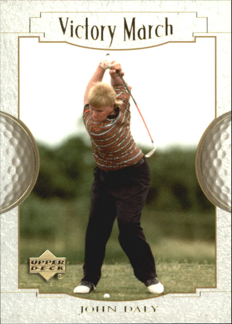 2001 Upper Deck #174 John Daly VM