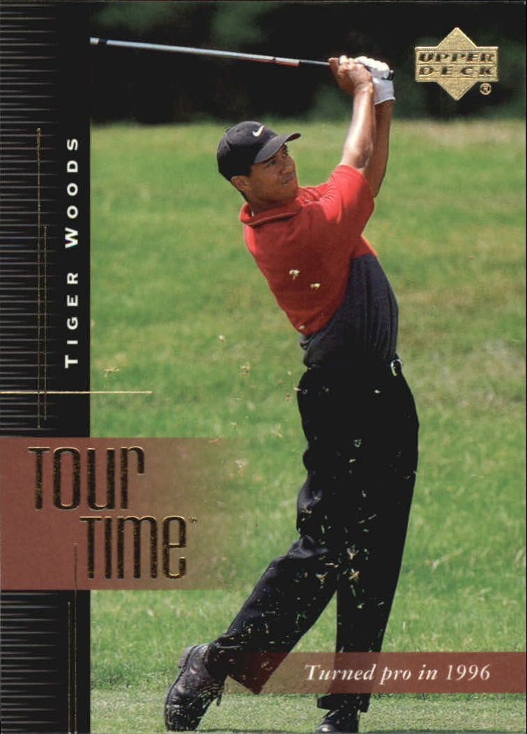 2001 Upper Deck #176 Tiger Woods TT