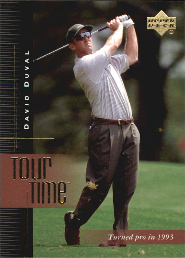 2001 Upper Deck #177 David Duval TT
