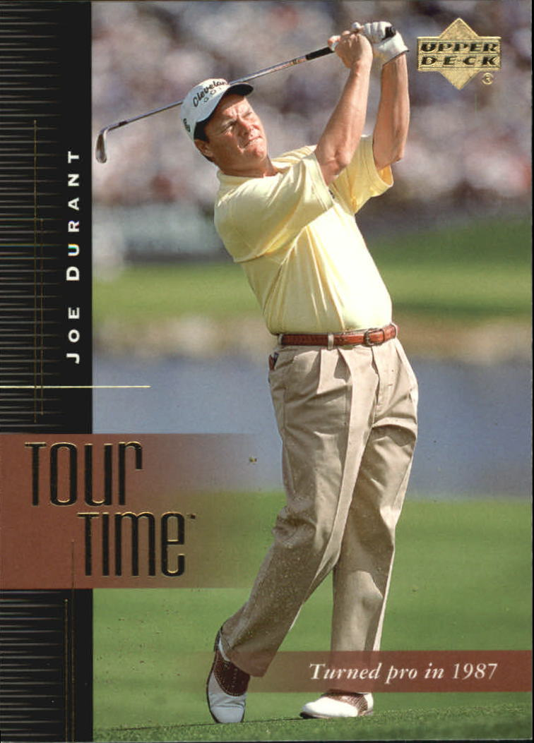 2001 Upper Deck #178 Joe Durant TT