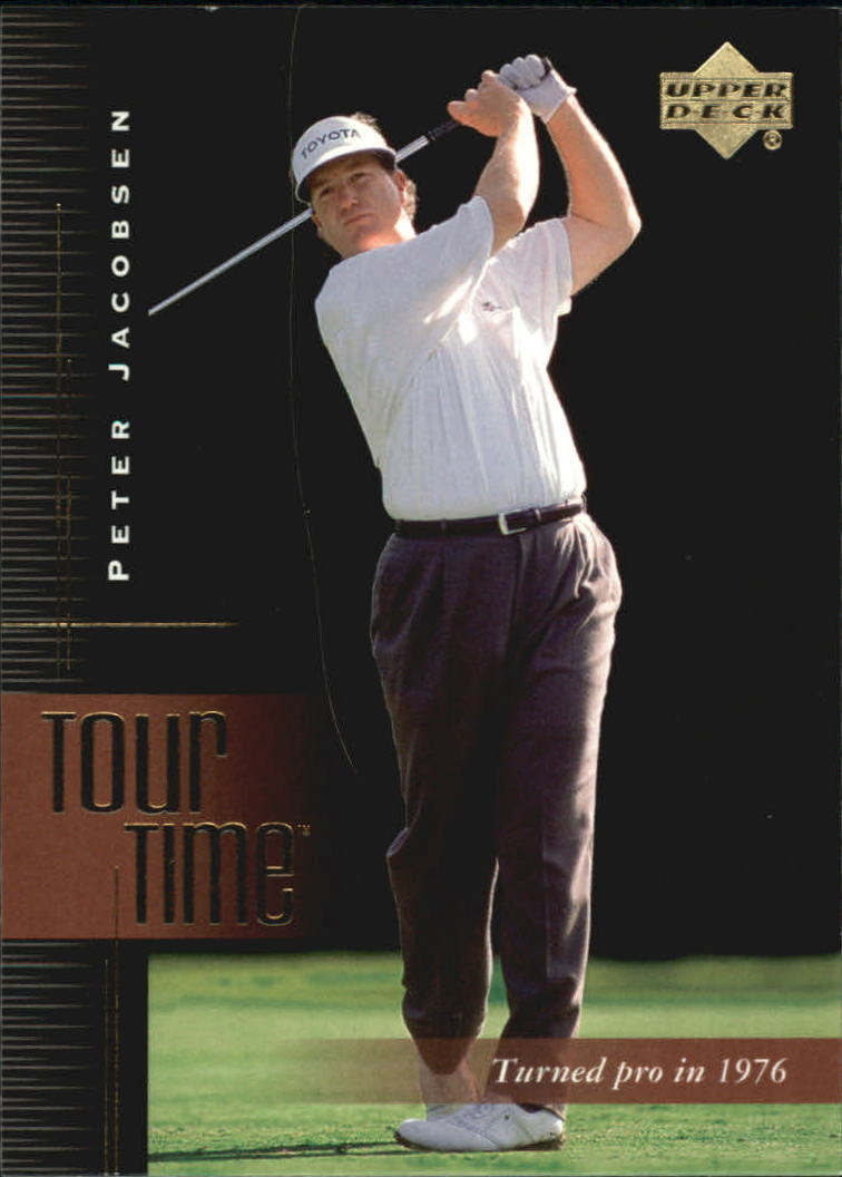 2001 Upper Deck #182 Peter Jacobsen TT