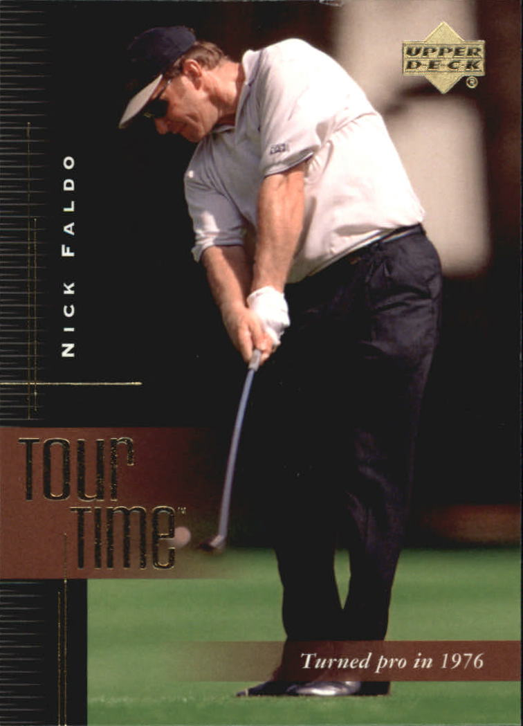 2001 Upper Deck #189 Nick Faldo TT
