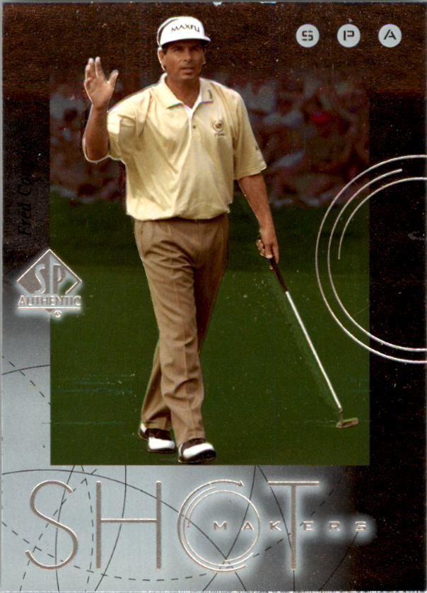 2001 SP Authentic Shotmakers #S6 Fred Couples