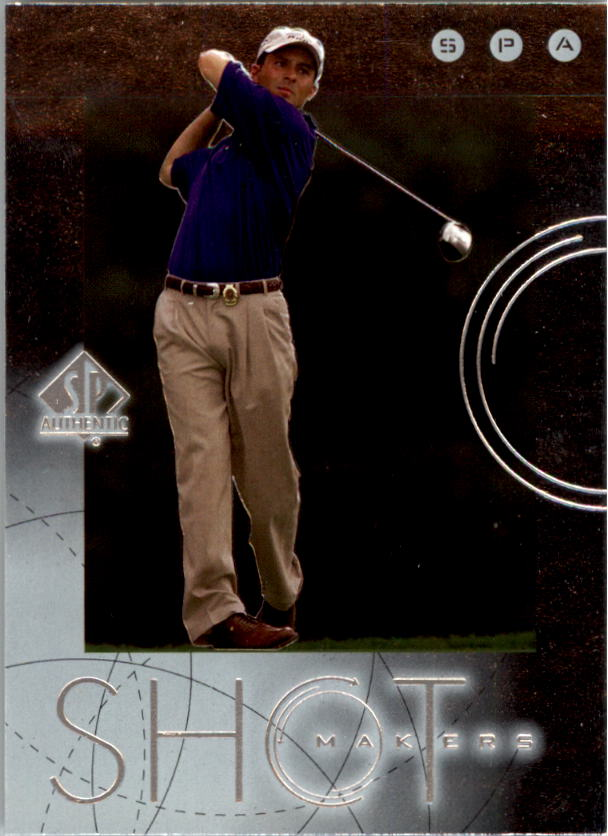 2001 SP Authentic Shotmakers #S9 Mike Weir