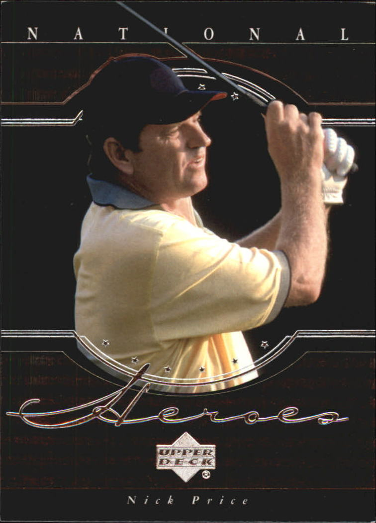 2001 Upper Deck National Heroes #NH6 Nick Price