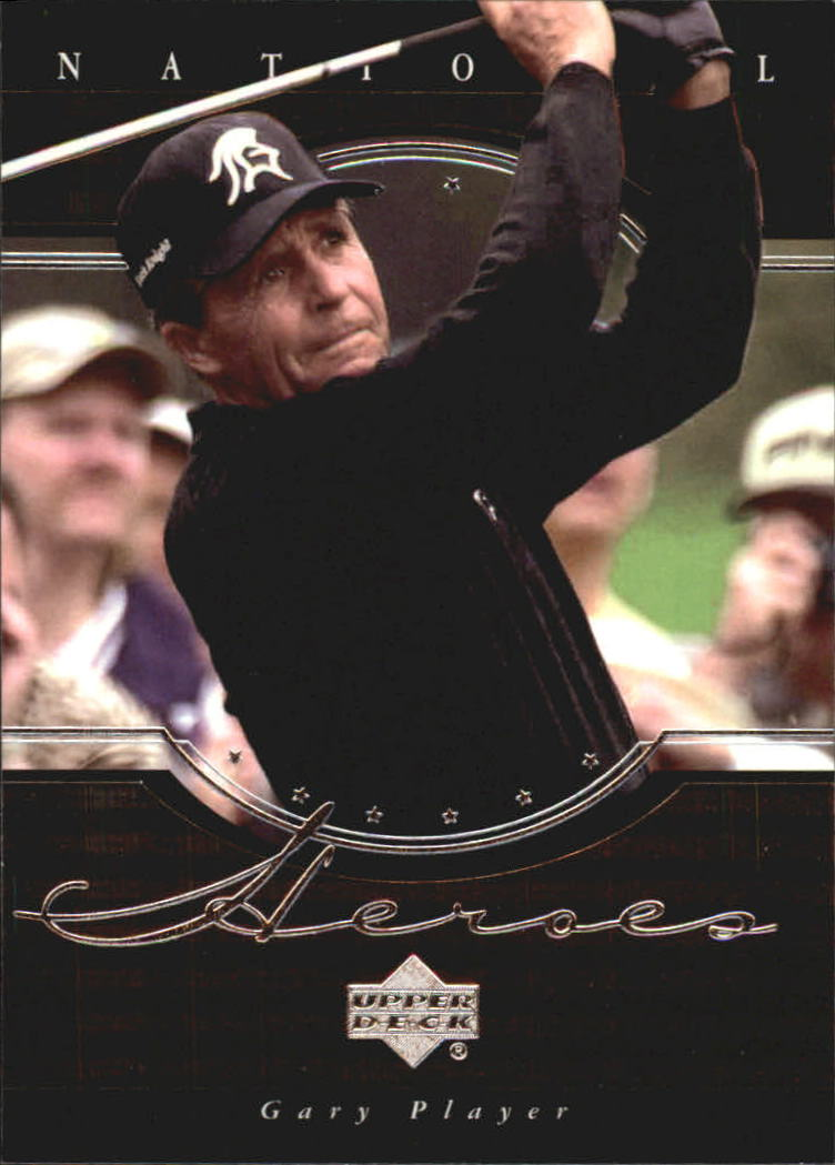2001 Upper Deck National Heroes #NH12 Gary Player