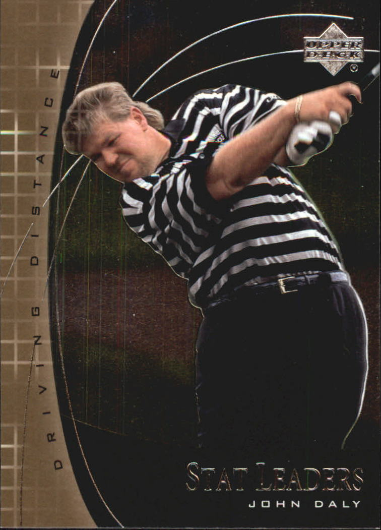 2001 Upper Deck Stat Leaders #SL1 John Daly