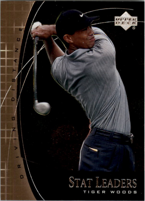 2001 Upper Deck Stat Leaders #SL2 Tiger Woods