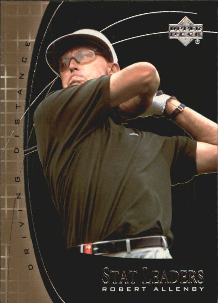 2001 Upper Deck Stat Leaders #SL4 Robert Allenby