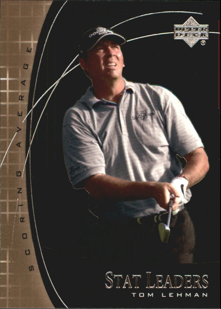 2001 Upper Deck Stat Leaders #SL15 Tom Lehman