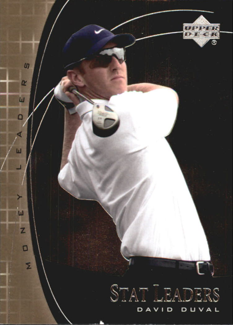 2001 Upper Deck Stat Leaders #SL19 David Duval
