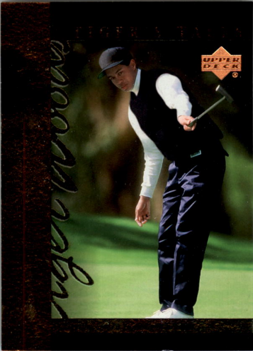 2001 Upper Deck Tiger's Tales #TT1 Tiger Woods
