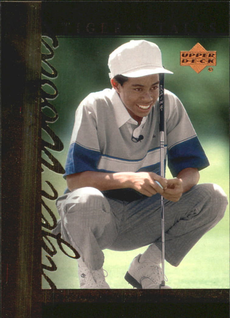 2001 Upper Deck Tiger's Tales #TT3 Tiger Woods