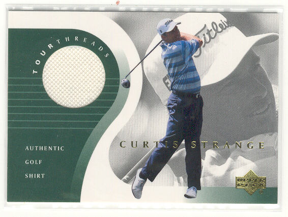 2001 Upper Deck Tour Threads #TTCS Curtis Strange