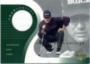 2001 Upper Deck Tour Threads #TTDB David Berganio