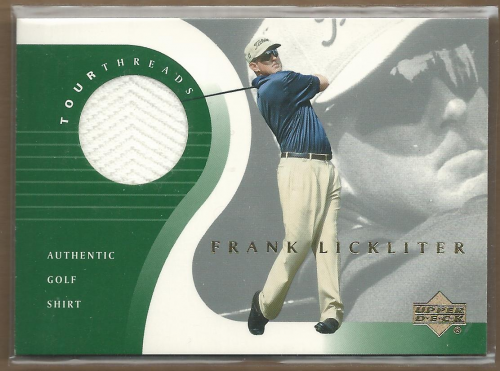2001 Upper Deck Tour Threads #TTFL Frank Lickliter