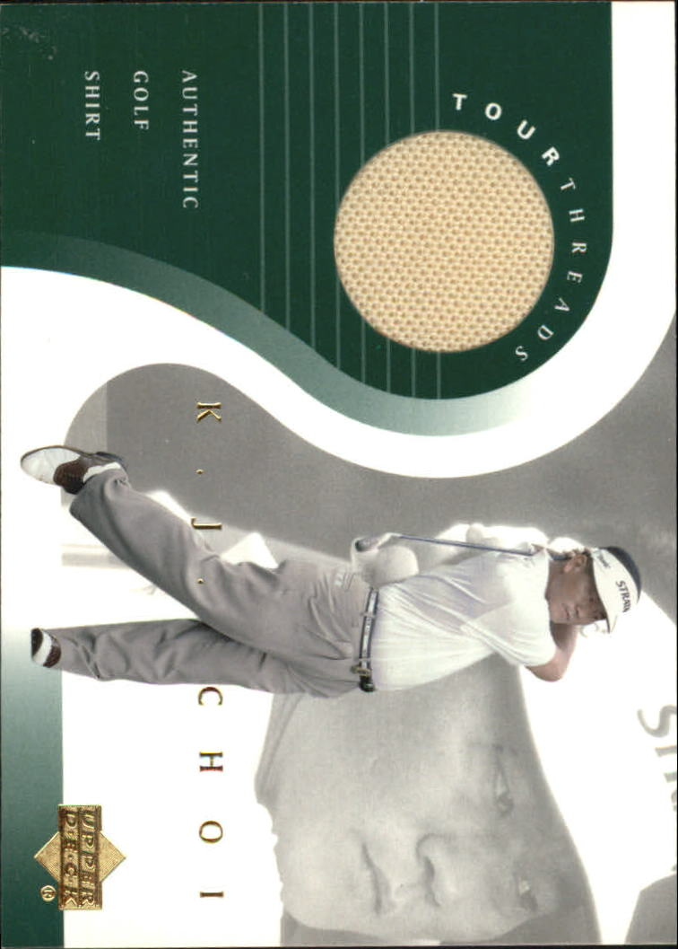 2001 Upper Deck Tour Threads #TTKJ K.J. Choi