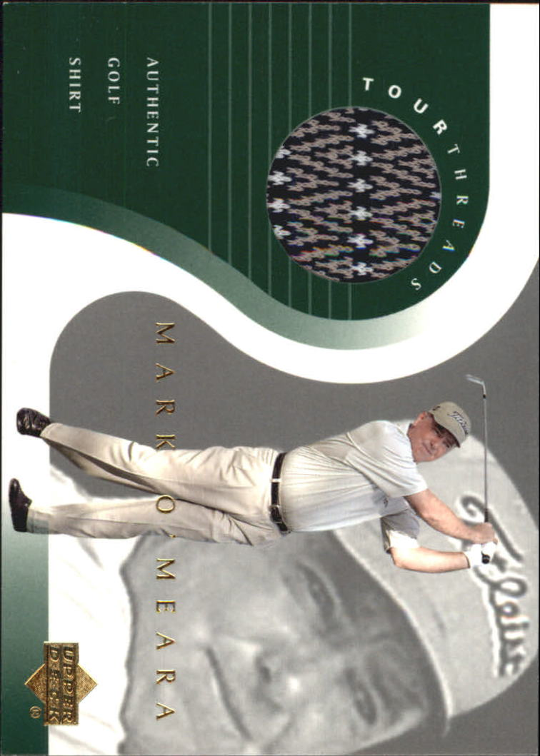 2001 Upper Deck Tour Threads #TTMO Mark O'Meara