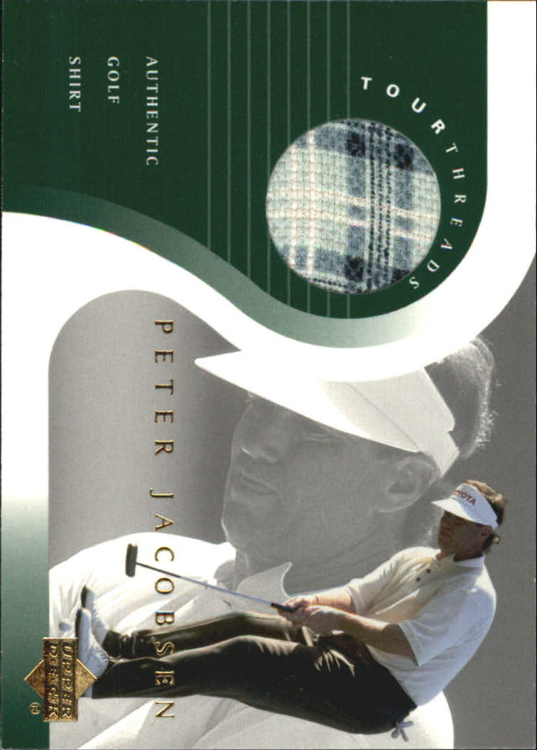2001 Upper Deck Tour Threads #TTPJ Peter Jacobsen