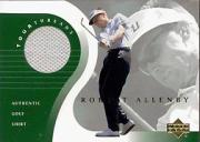 2001 Upper Deck Tour Threads #TTRA Robert Allenby