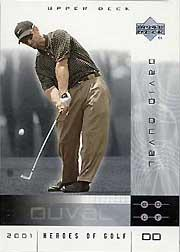 2001 Upper Deck Heroes of Golf National Convention Promos #2DD David Duval