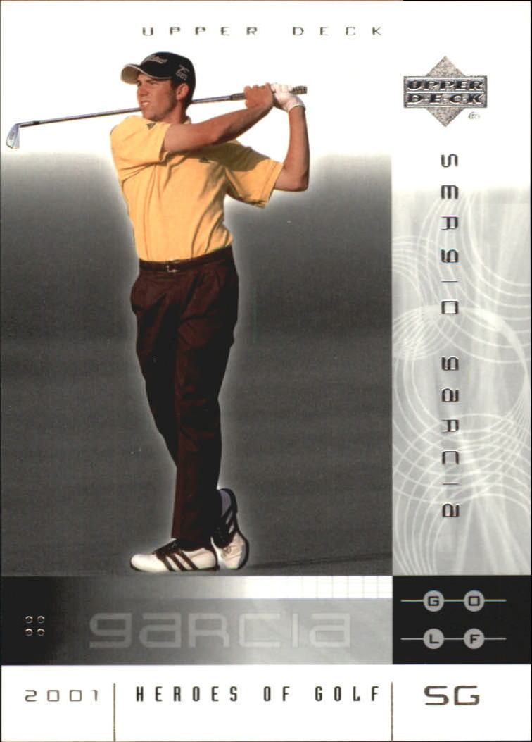 2001 Upper Deck Heroes of Golf National Convention Promos #3SG Sergio Garcia