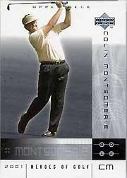 2001 Upper Deck Heroes of Golf National Convention Promos #5CM Colin Montgomerie
