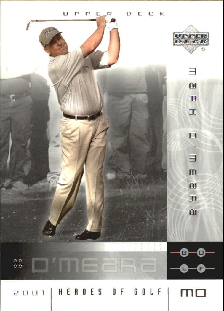 2001 Upper Deck Heroes of Golf National Convention Promos #8MO Mark O'Meara