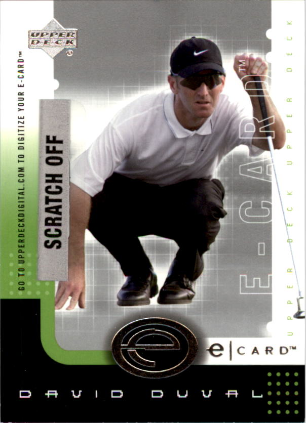 2001 Upper Deck e-Card #EDD David Duval