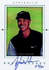 2001 Upper Deck Gallery Autographs #GGTW Tiger Woods