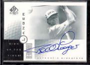 2001 SP Authentic Sign of the Times #BL Bernhard Langer