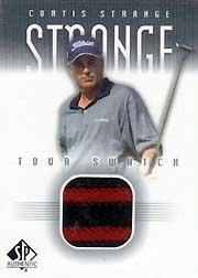 2001 SP Authentic Tour Swatch #CSTS Curtis Strange