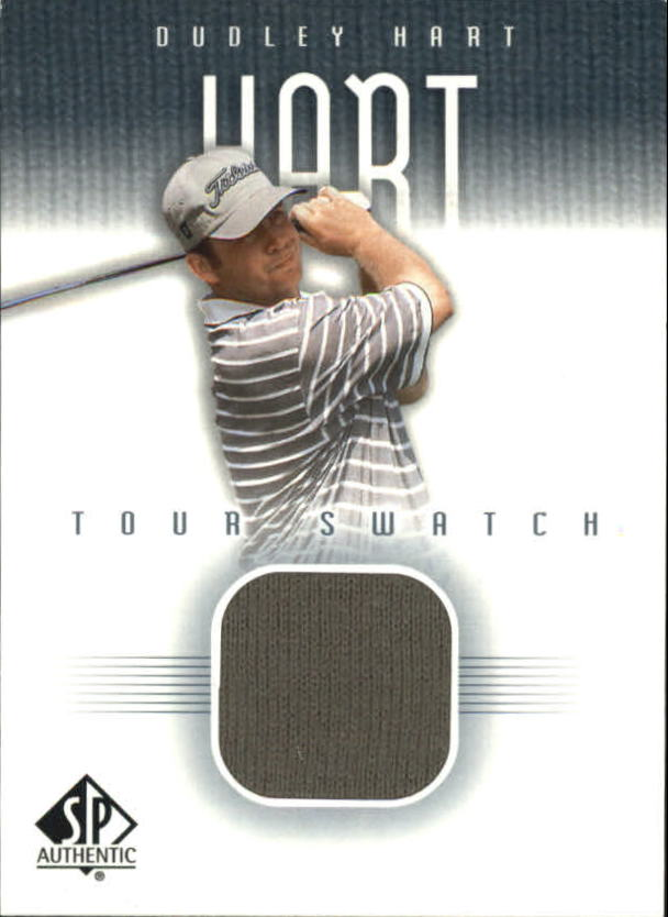 2001 SP Authentic Tour Swatch #DHTS Dudley Hart