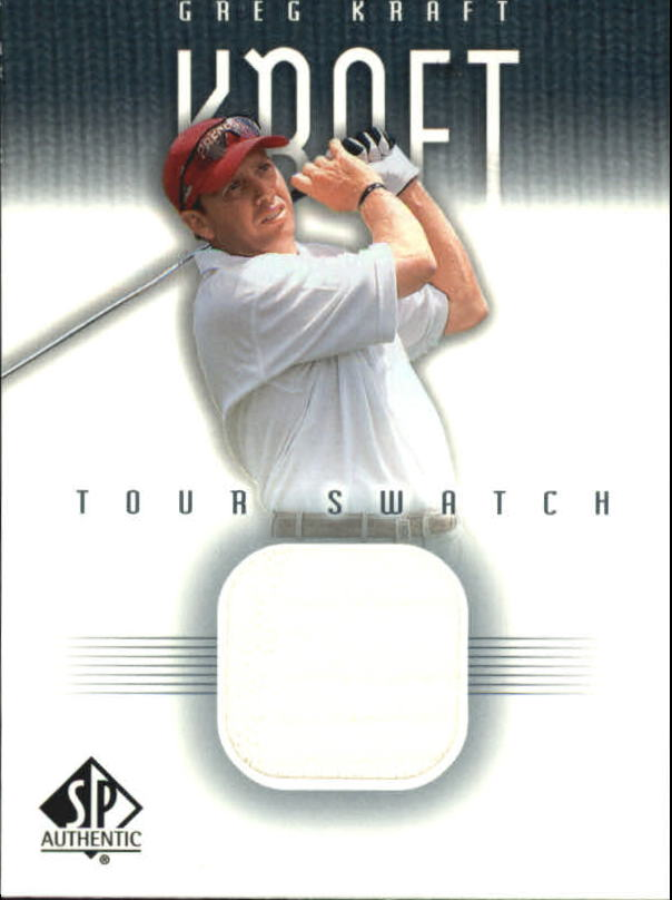 2001 SP Authentic Tour Swatch #GKTS Greg Kraft