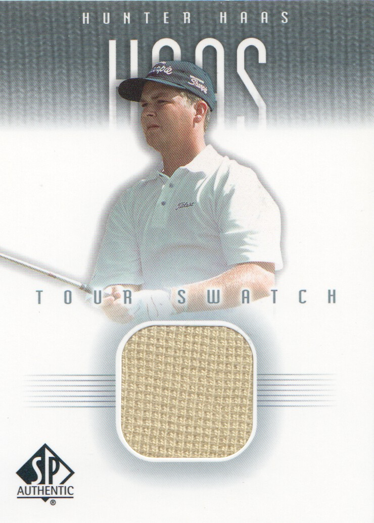 2001 SP Authentic Tour Swatch #HHTS Hunter Haas