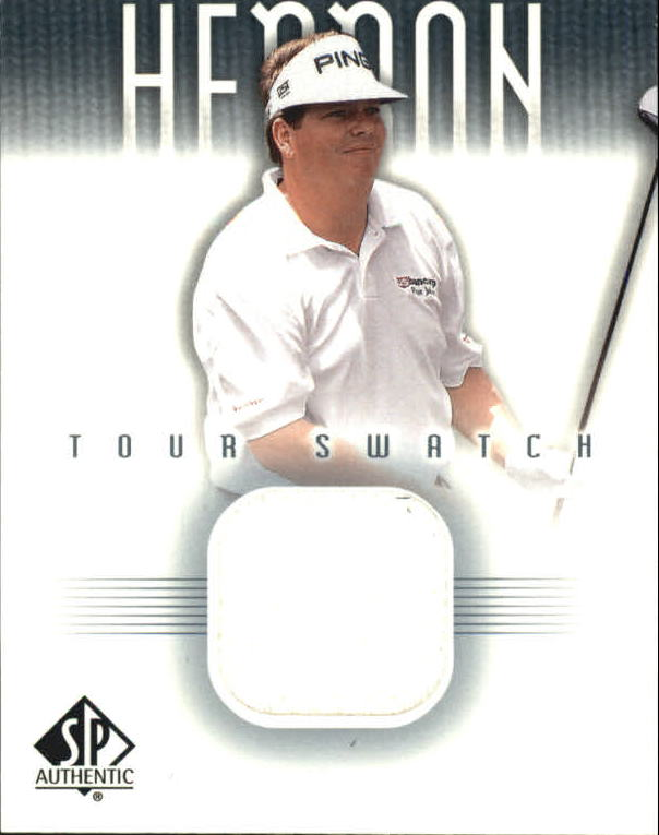 2001 SP Authentic Tour Swatch #THTS Tim Herron