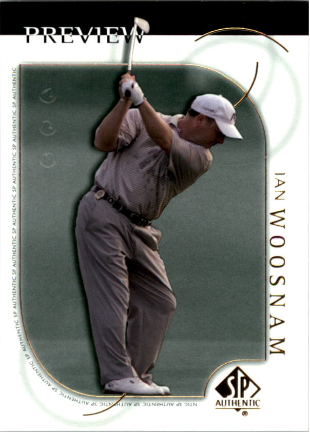 2001 SP Authentic Preview #2 Ian Woosnam