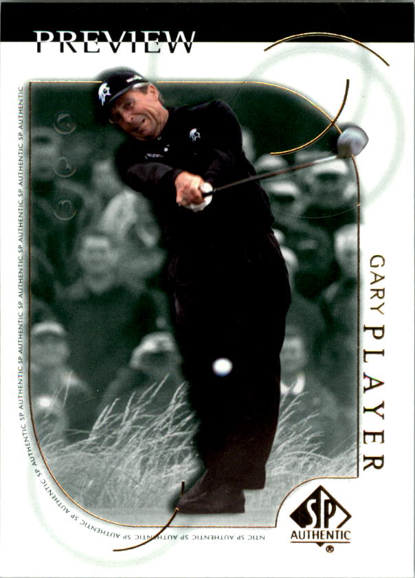 2001 SP Authentic Preview #14 Gary Player