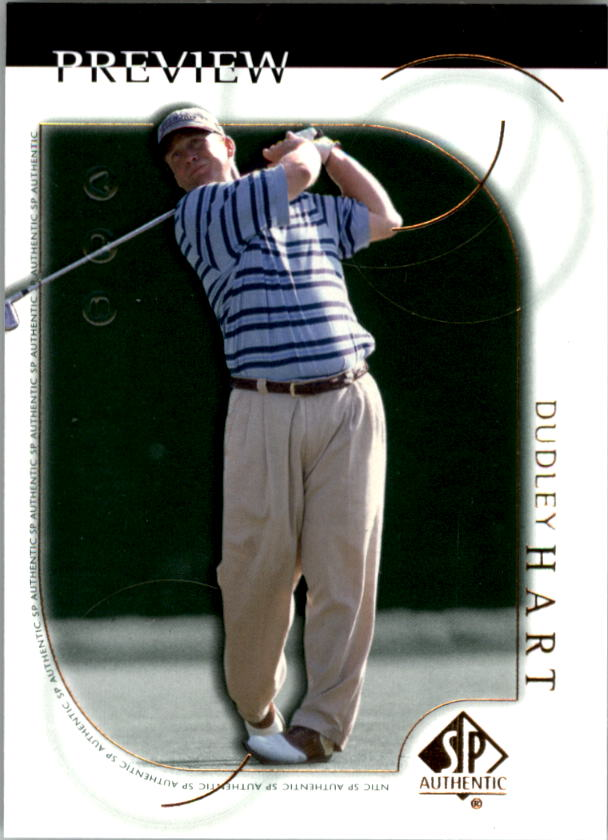 2001 SP Authentic Preview #17 Dudley Hart