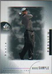 2001 SP Authentic Preview #22 David Duval STAR