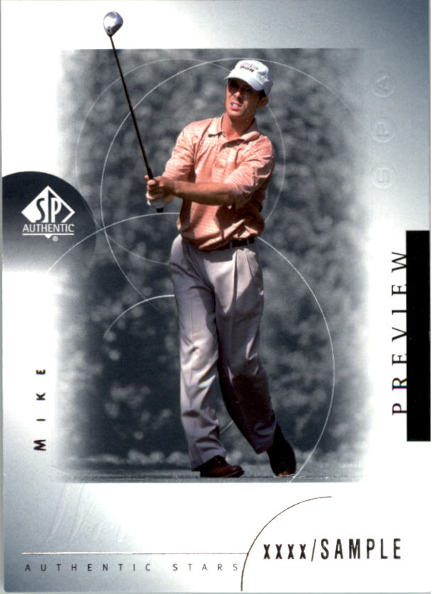 2001 SP Authentic Preview #26 Mike Weir STAR