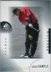 2001 SP Authentic Preview #36 Thomas Bjorn STAR