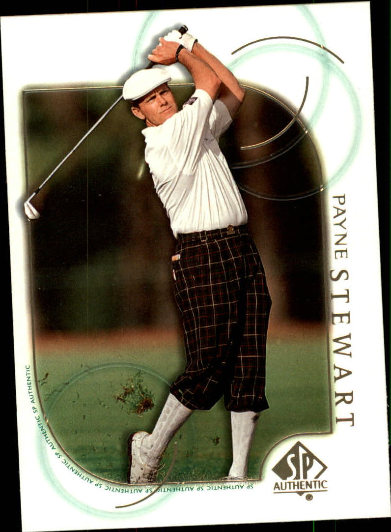 2001 SP Authentic #6 Payne Stewart