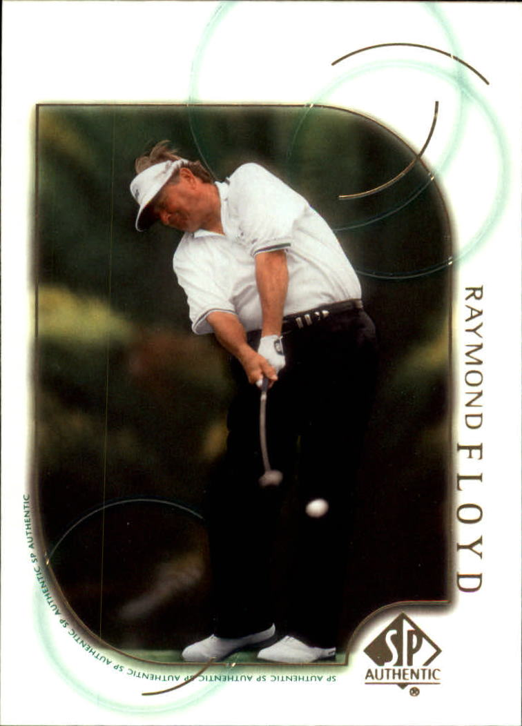 2001 SP Authentic #8 Raymond Floyd